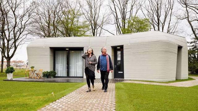 Prva 'printana' 3D kuća u Nizozemskoj  je dobila stanare