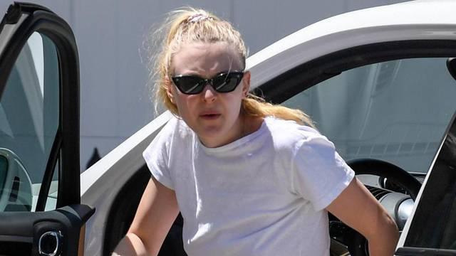 Dakota Fanning steps out in LA