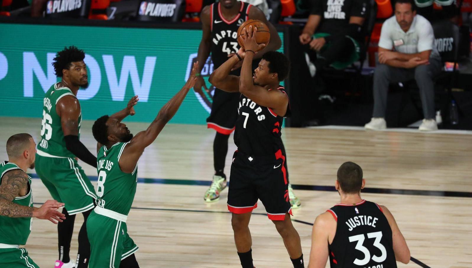 NBA: Playoffs-Toronto Raptors at Boston Celtics