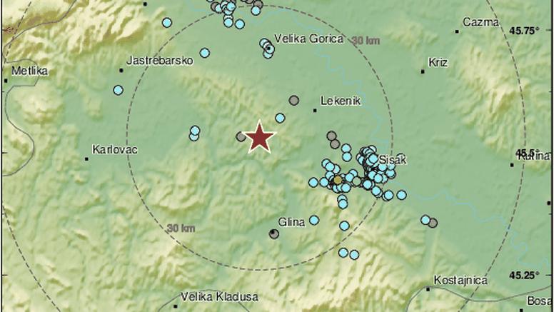 Novo podrhtavanje na Baniji: Potres 2,6 po Richteru zatresao kod Petrinje: 'Kakvo buđenje!'