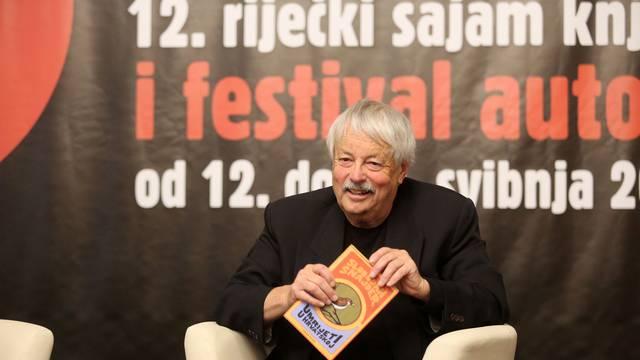 Rijeka: Slobodan Šnajder predstavio knjigu Umrijeti u Hrvatskoj