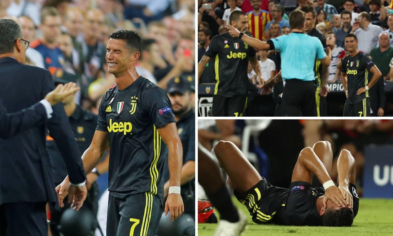 Za ovo ga je isključio? Ronaldo je dobio crveni pa - zaplakao...