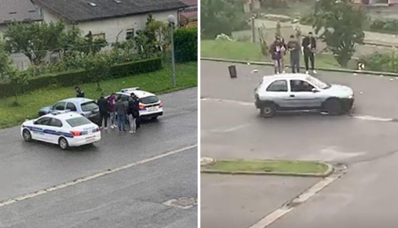 Video: Mladić (18) pijan divljao autom, a prijatelji ga bodrili