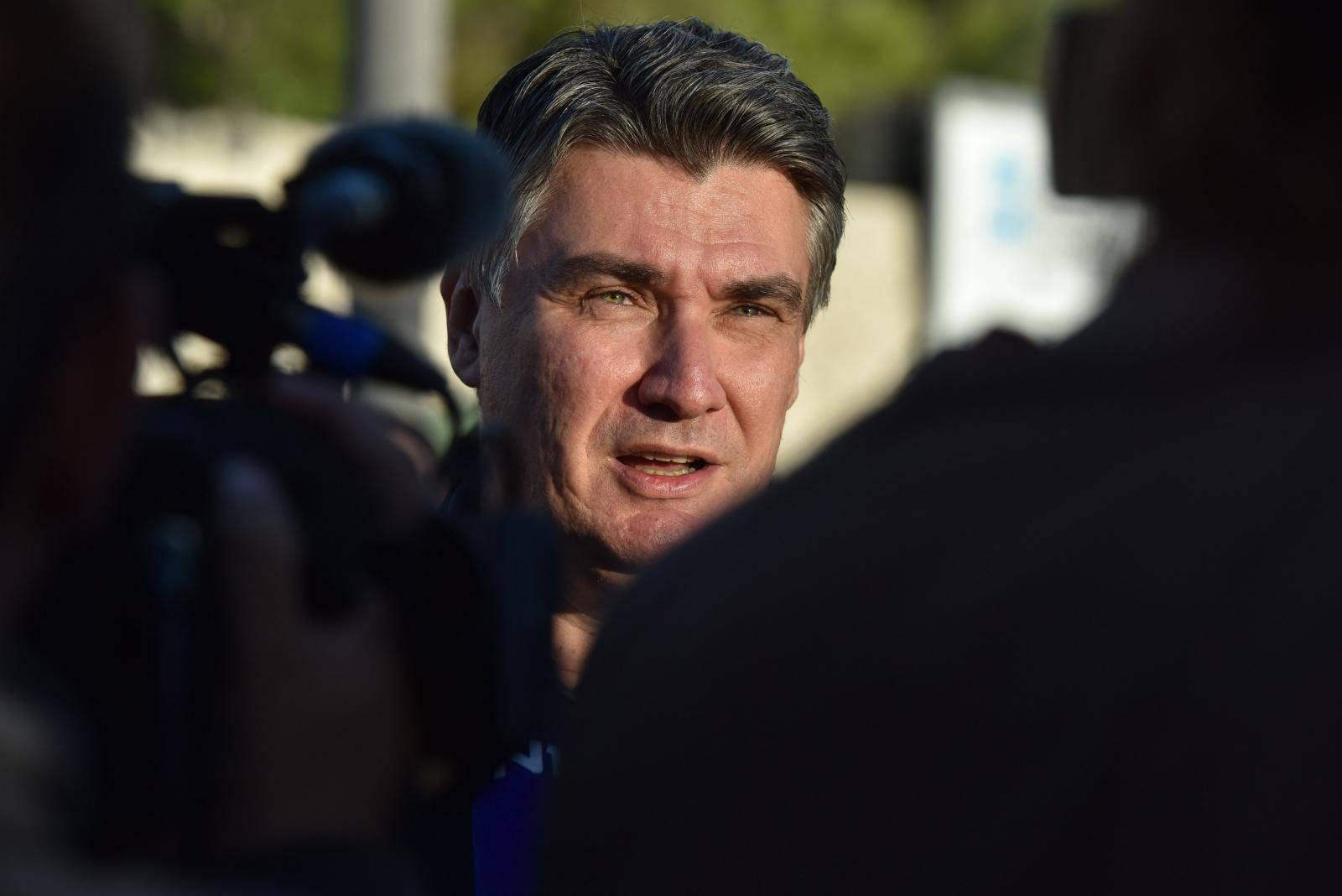 Predsjenički kandidat Zoran Milanovič posjetio Šibenik