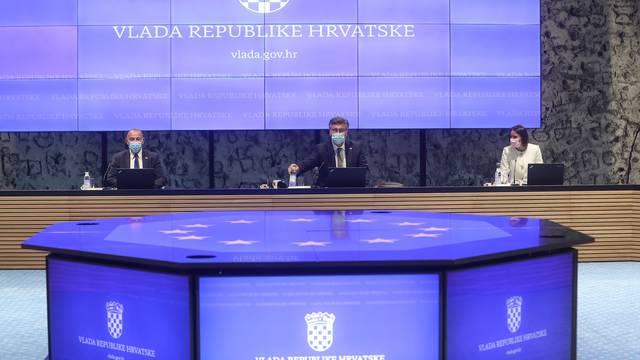 Zagreb: Održana sjednica Vlade