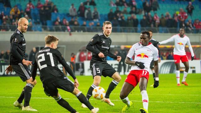 GER, UEFA Europa League 2018/2019, Vorrunde 6. Spieltag, RB Leipzig (GER) vs. Rosenborg Trondheim (NOR)