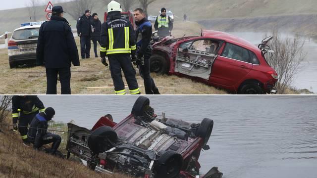 Strava u Međimurju: Iz kanala izvukli auto i mrtvog mladića