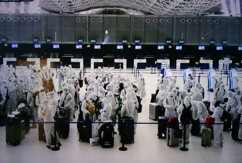 Kineski sportaši odletjeli kući: 'Zaštitili su se od glave do pete, svi su bili u bijelim odijelima'