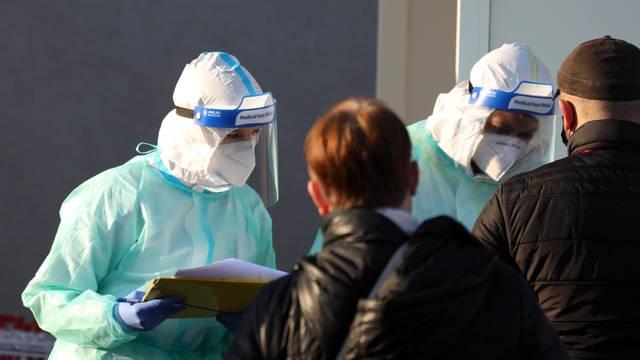 Šibenik: Testiranje građana na koronavirus