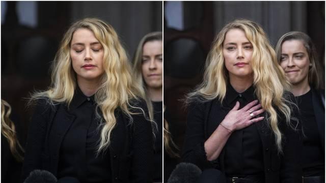 Amber jadikuje: Boli me iznositi traume iz mog života s Deppom