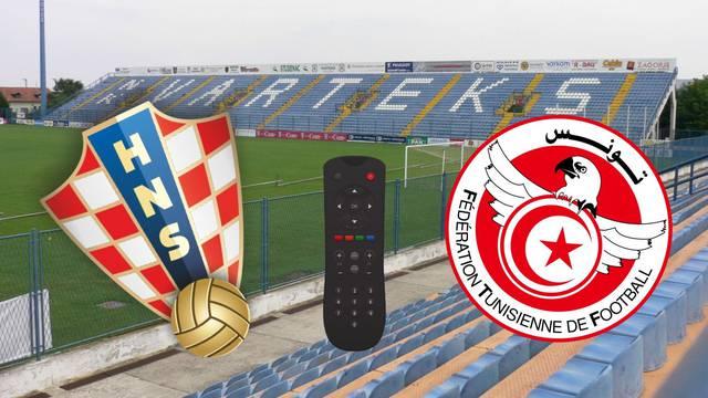 Gdje možete gledati prijateljski susret Hrvatske protiv Tunisa