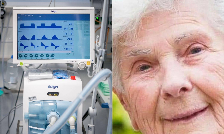 'Neću respirator, potrebniji je mladima', rekla je. I umrla...