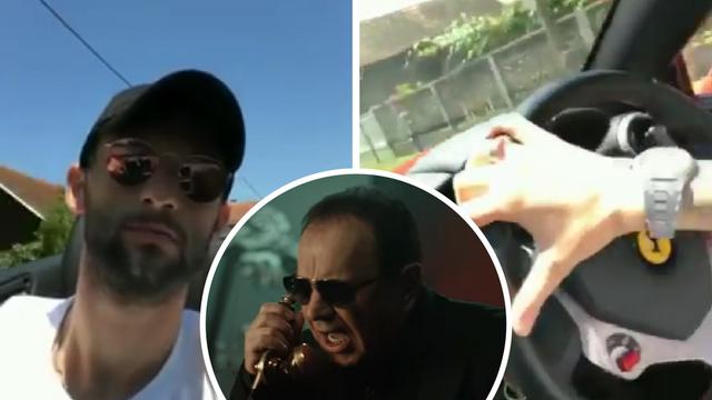 Brozovićevo opuštanje: Ferrari, lagana ljetna vožnja i Mile Kitić