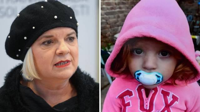 Aladrovićeva savjetnica: Možda je djevojčicu (2) trebalo i ranije oduzeti biološkim roditeljima