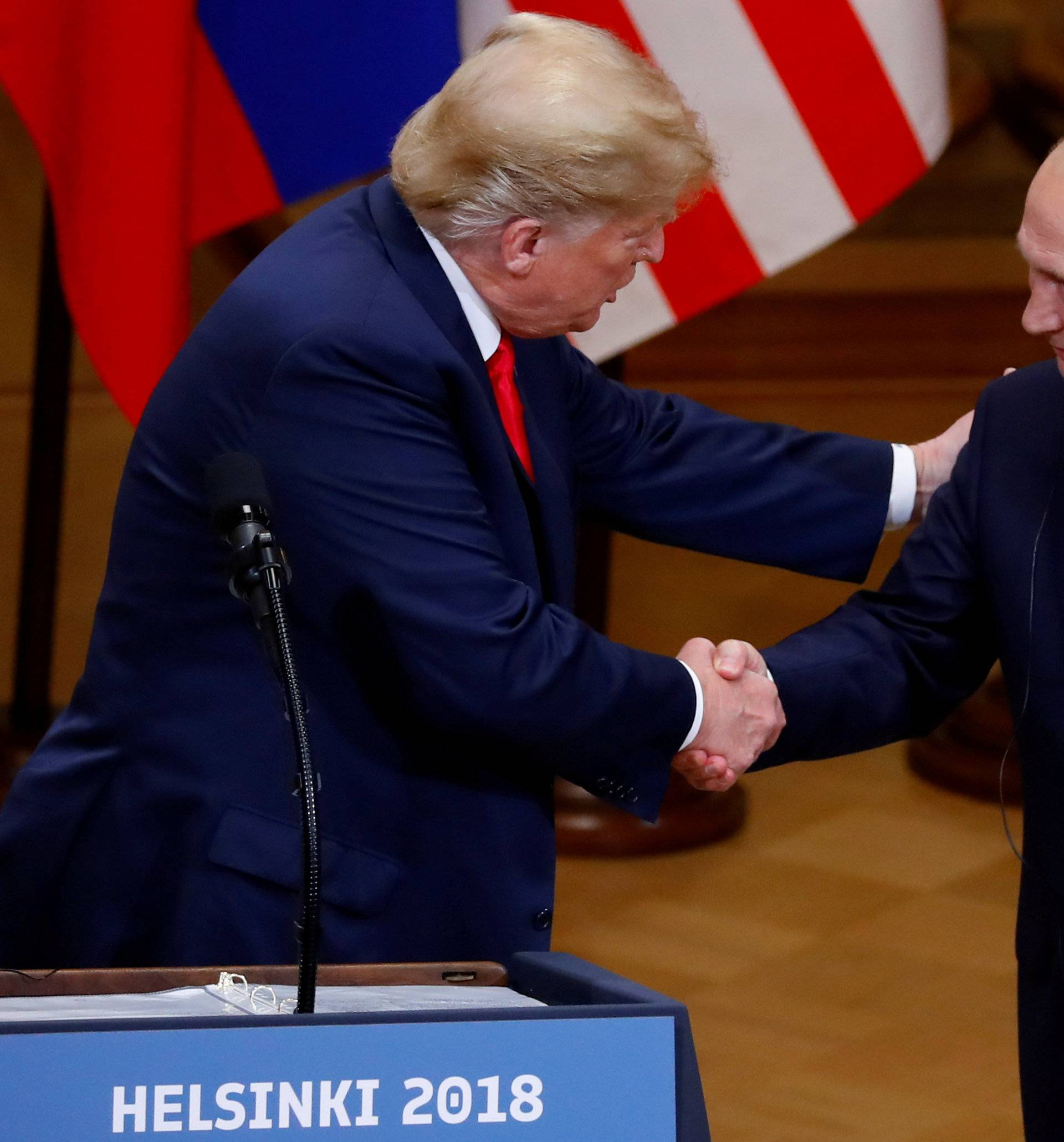 FILE PHOTO: Trump-Putin summit in Helsinki