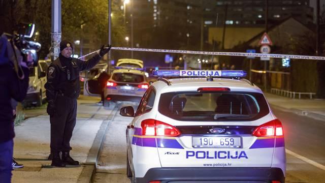 Zagreb: Policijski očevid nakon pucnjave u naselju Kruge