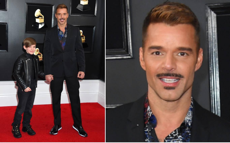 Ricky Martin promijenio imidž i na crveni tepih poveo svog sina