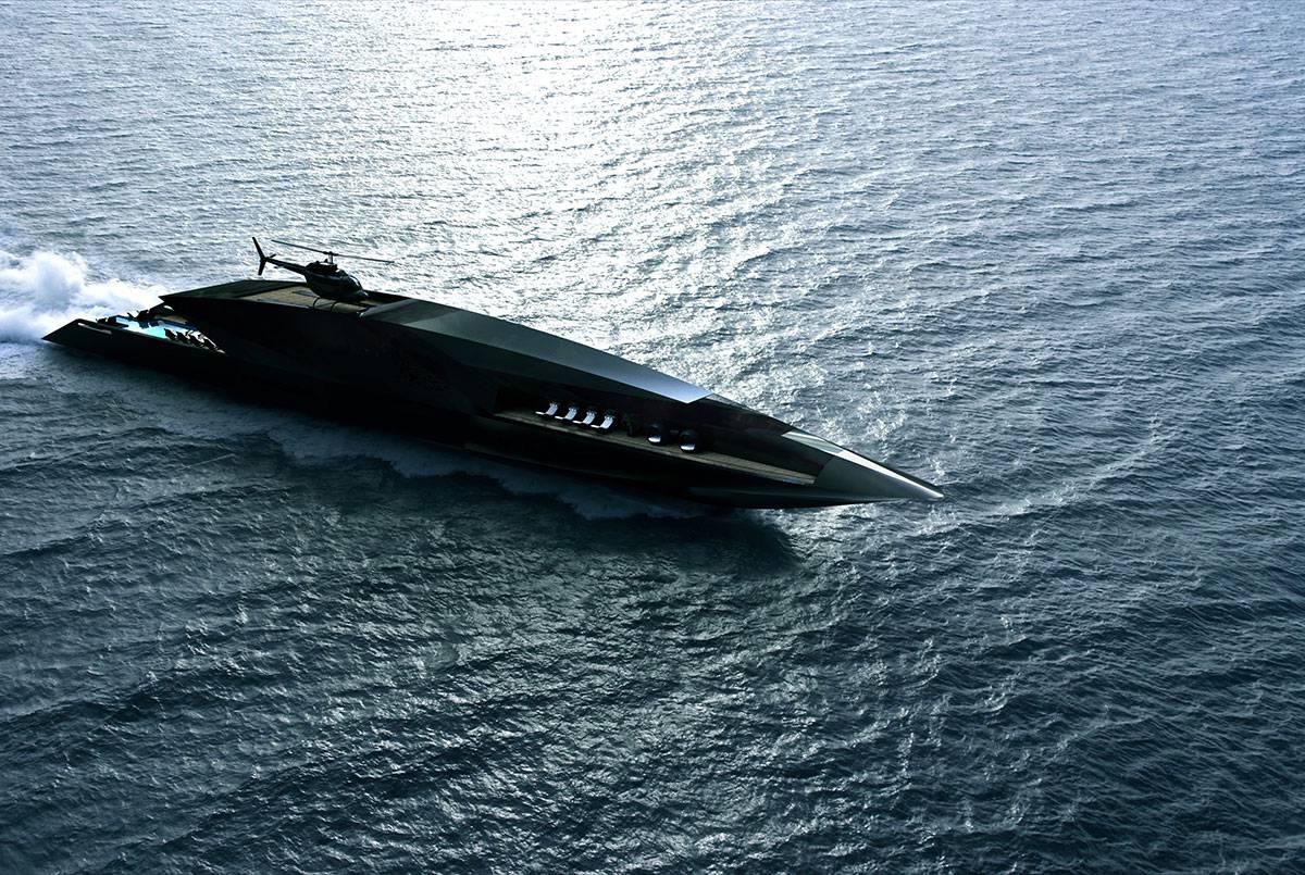 Ova jahta dostojna je Bondovih zlikovaca i novi san milijardera