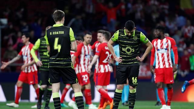 Europa League Quarter Final First Leg - Atletico Madrid vs Sporting CP