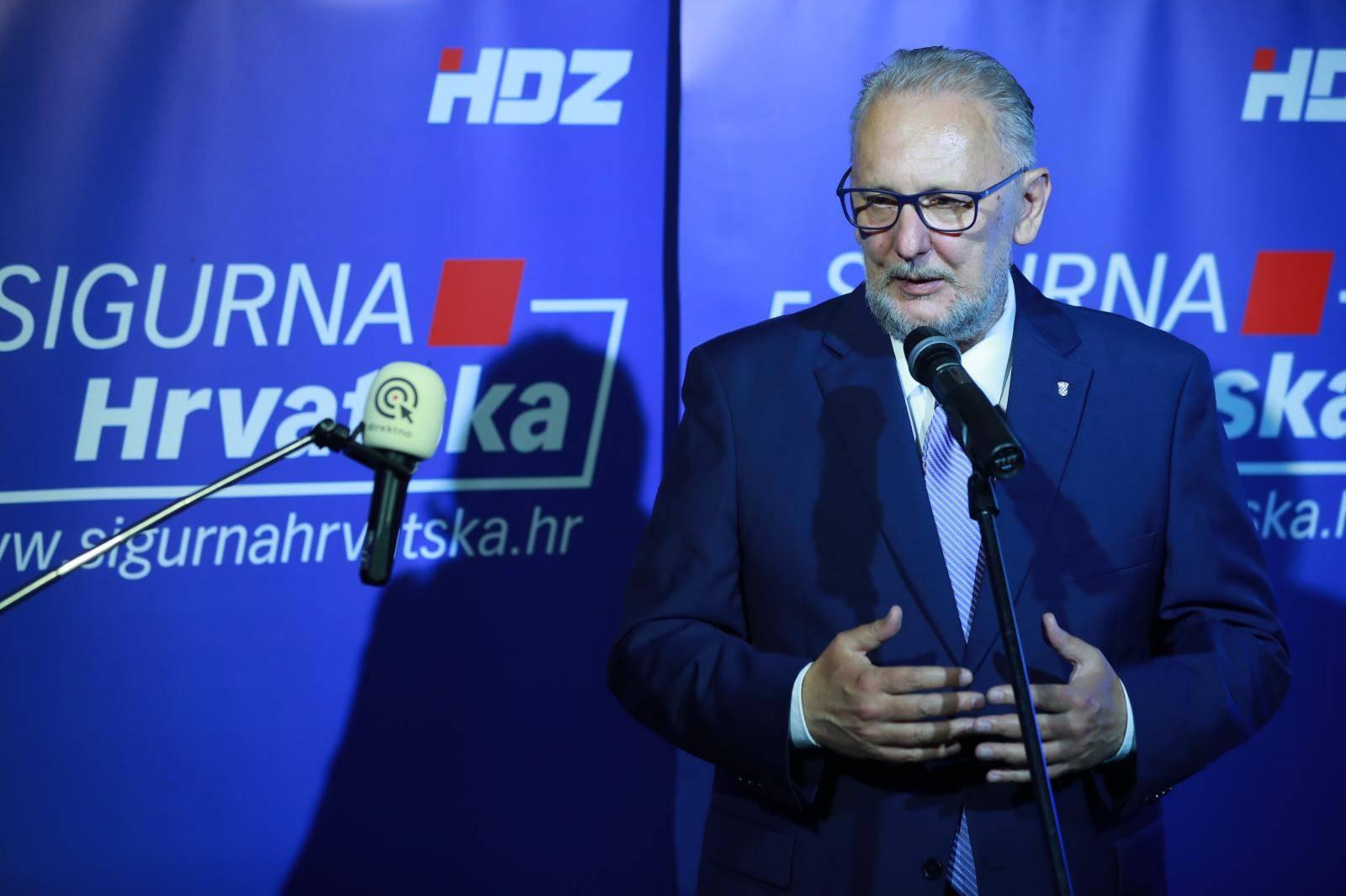 Zagreb: Izjave HDZ-ovaca nakon prvih neslužbenih rezultata