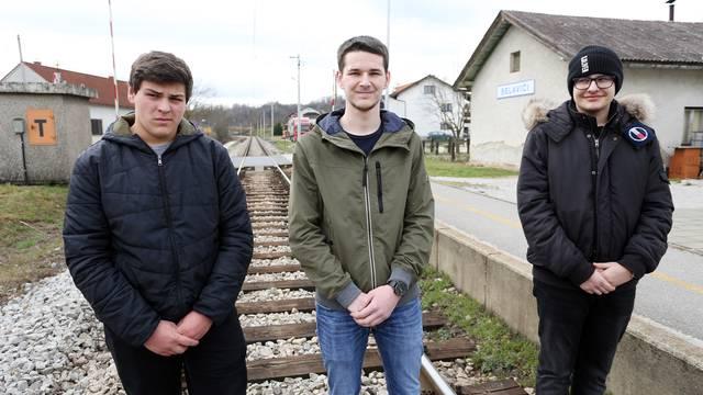 Heroji iz Belavića: U zadnji čas čovjeka spasili od naleta vlaka