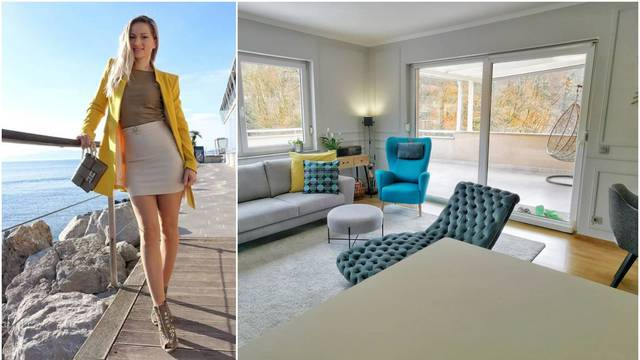 Ramljak objavila fotku dnevnog boravka: 'Prekrasan ti je stan'