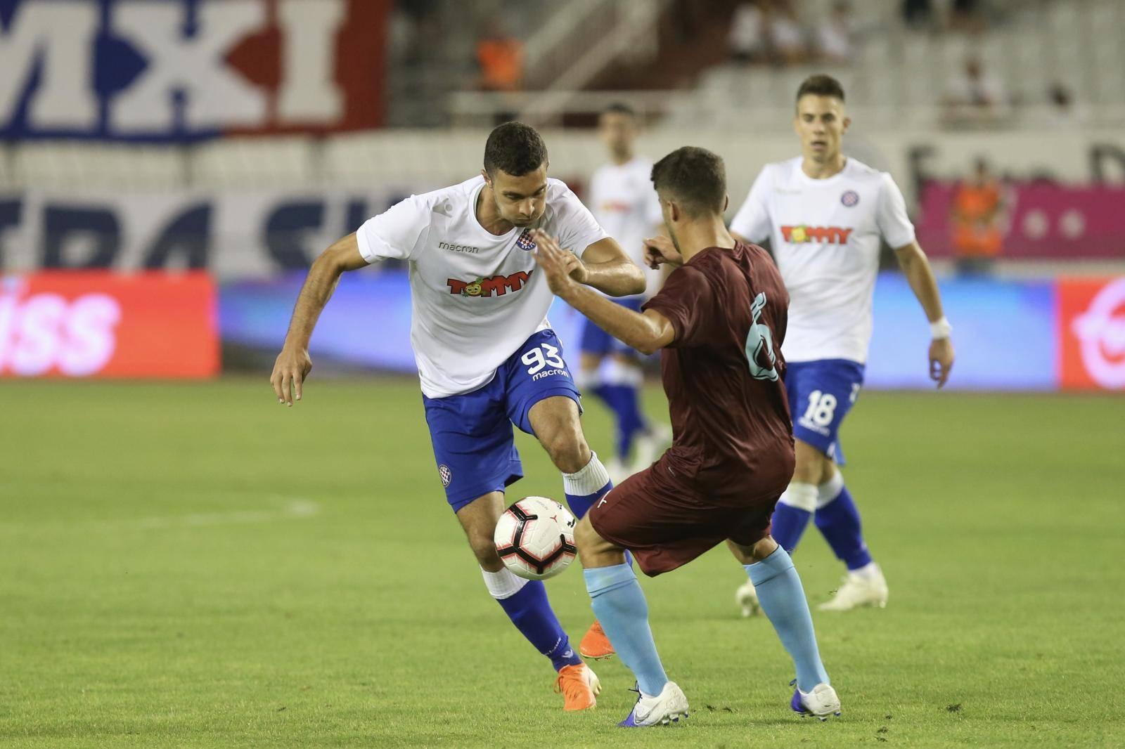 Katastrofa u Splitu! Hajduk je izgubio od Gzire i ispao iz EL-a