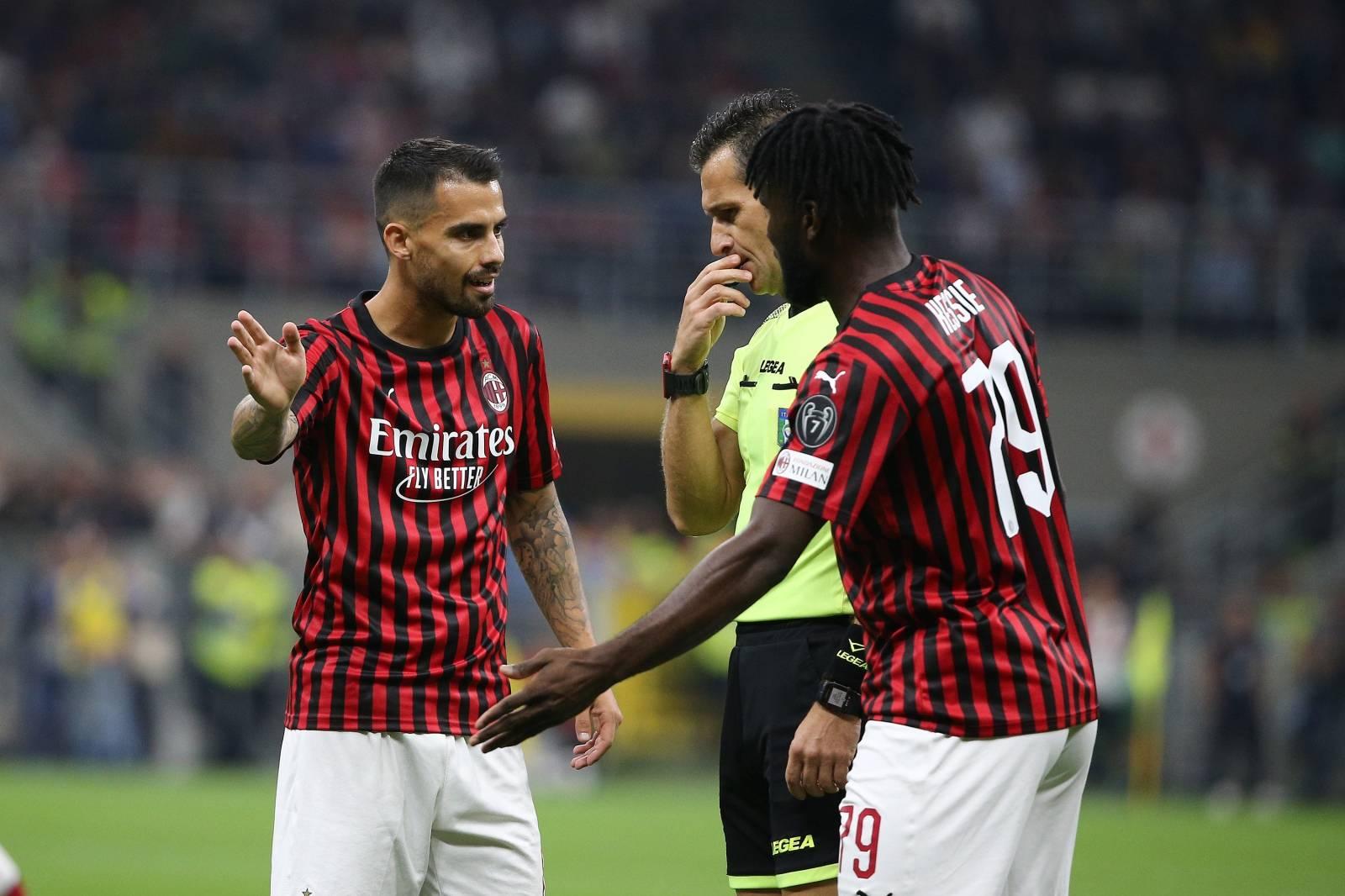 Serie A championship MILAN vs INTER 0-2 Apa Agency