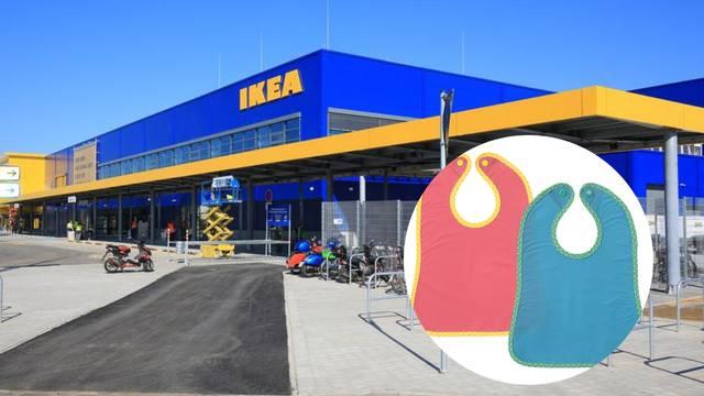 IKEA povlači dječji podbradnik: 'Postoji strah od gušenja djece'