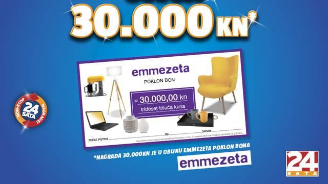 Pročitajte pravila igre Osvoji 30.000 kuna uz Emmezetu