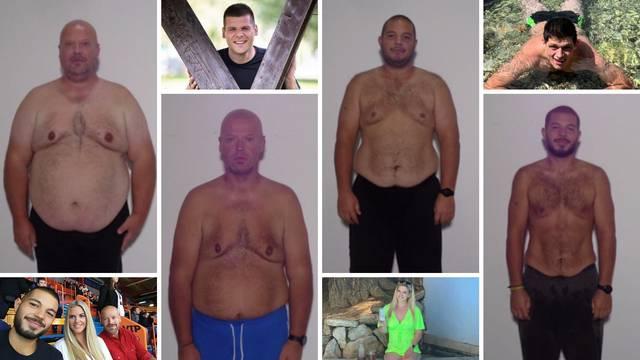 Zajedno izgubili preko 270 kg: Pogledajte kako izgledaju sada