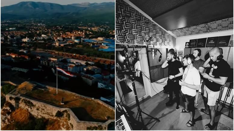 Hrvatski bend prvi snimio video  na Kninskoj tvrđavi: 'Ganuo nas je komentar jednog branitelja'