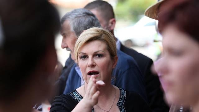 Vrbnik: Predsjednica Grabar-Kitarović posjetila Poljoprivrednu zadrugu Vrbnik