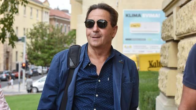 Stipe Petrina dolazi na sud u Šibeniku