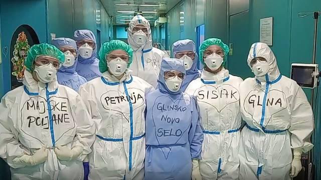 VIDEO Čestitka sestara i liječnika iz KB Dubrava