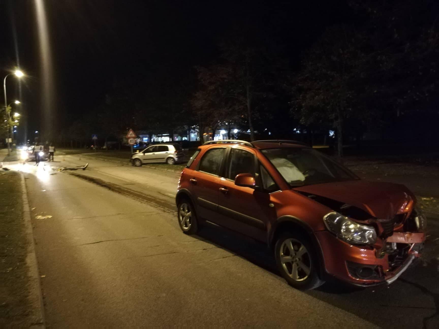 Teška nesreća u Koprivnici: U sudaru auto izletio s ceste
