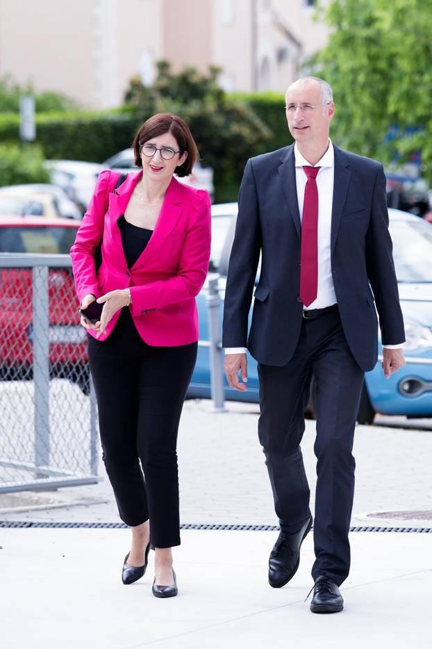 Split: Ivica Puljak sa suprugom Marijanom glasovao na lokalnim izborima