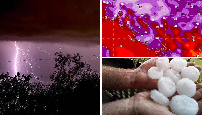 Opasno vrijeme dolazi prema Hrvatskoj: Izdan crveni alarm