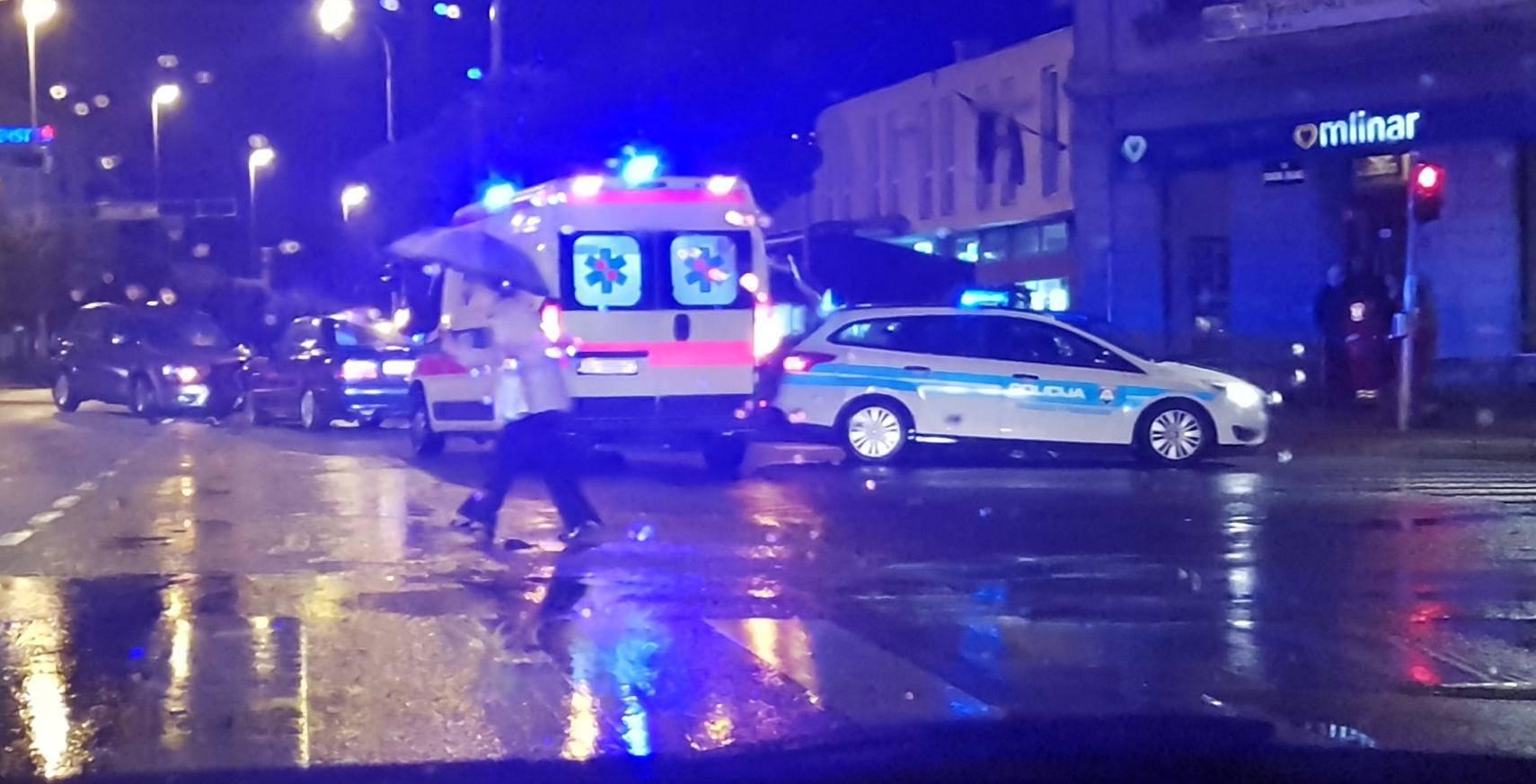 Sudarila se dva auta: Nitko nije ozlijeđen, šteta je materijalna