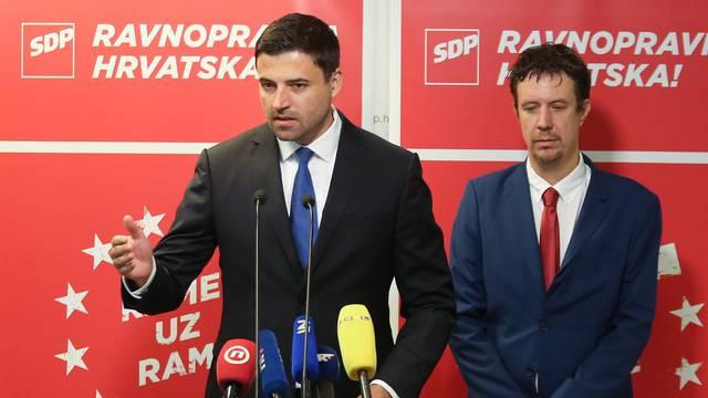 Zagreb: U SDP-u održana konferencija za medije na temu prevencijom do zdravlja