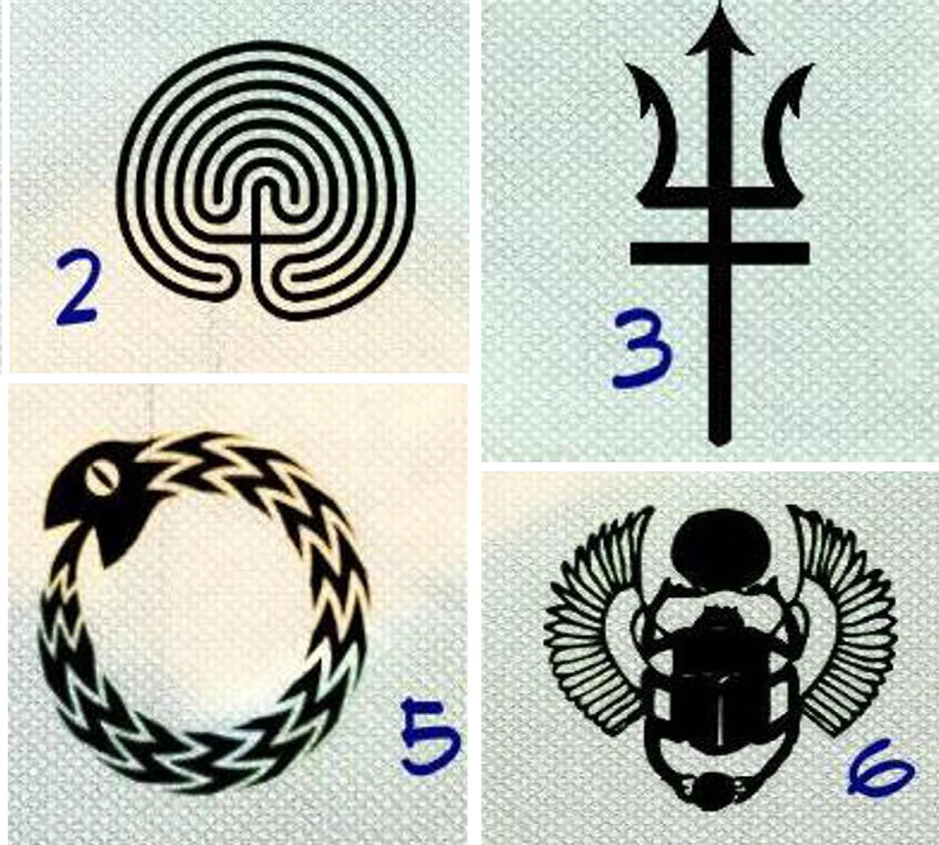 Izaberite magičan simbol, jer on otkriva što vašoj duši treba