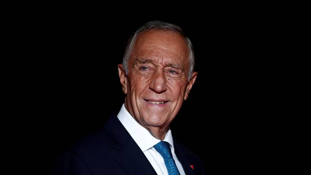 FILE PHOTO: Portugal's President Marcelo Rebelo de Sousa arrives to attend a visit and a dinner at the Orsay Museum in Paris