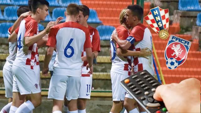 Evo gdje gledati utakmicu U21 'vatrenih' protiv Češke u Gorici