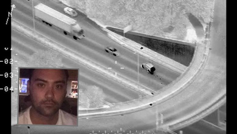 VIDEO Jeziva snimka: Bježao policiji i zakucao se u kamion. Nije imao šanse ovo preživjeti