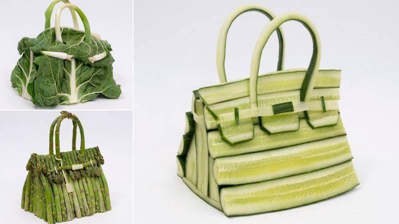 Hermès predstavio seriju  Birkin torbica napravljenu od povrća