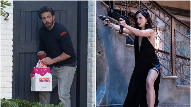Ben Affleck se tješi krafnama nakon kraha s Bond djevojkom