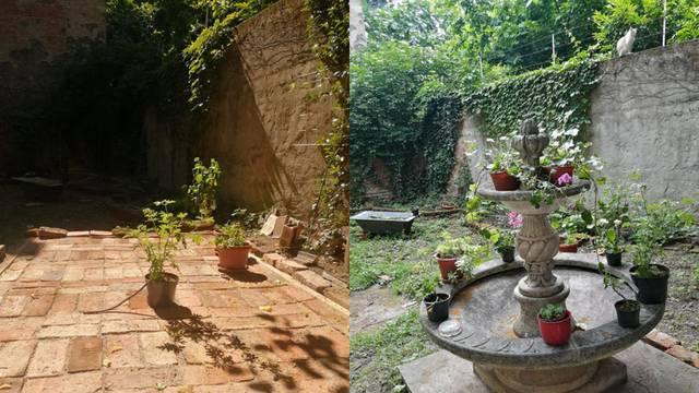 U centru Zagreba: Umjesto rođendanske zabave uredili vrt