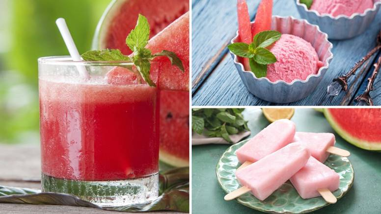 Ljetna osvježenja od lubenice: Sladoled, sok ili koktel s vinom