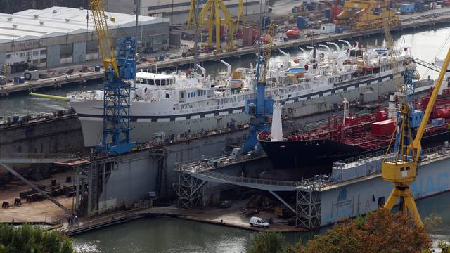 Rijeka: NovoizgraÄ?eni jedrenjak upolovio u brodogradili??te Viktor Lenac
