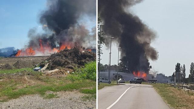 Buktinja u Vukovaru: 'Dim se proširio kroz cijelo naše naselje'